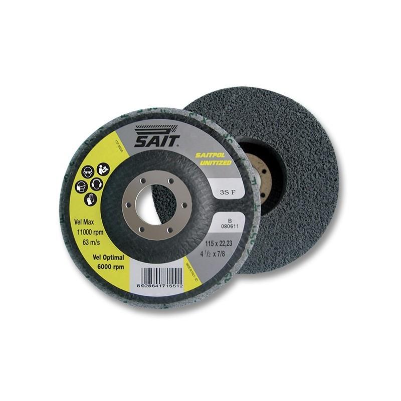 SAIT Abrasivi, UT-Saitpol Unitized, Unitized disc, for Metal, Others Applicatons