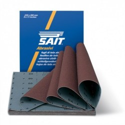 SAIT Abrasivi, S-Saitex DA-F, Cloth sheets, for Metal, Wood, Others Applications