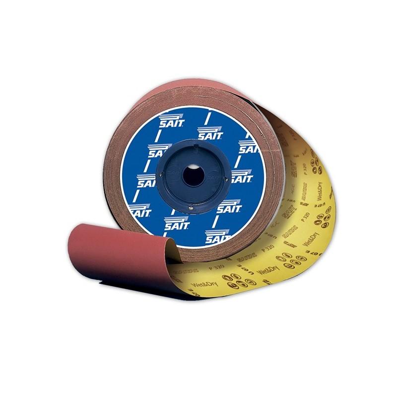 SAIT Abrasivi, RL-Saitac AG-C, Wide abrasive paper roll, for Wood, Automotive, Other Application