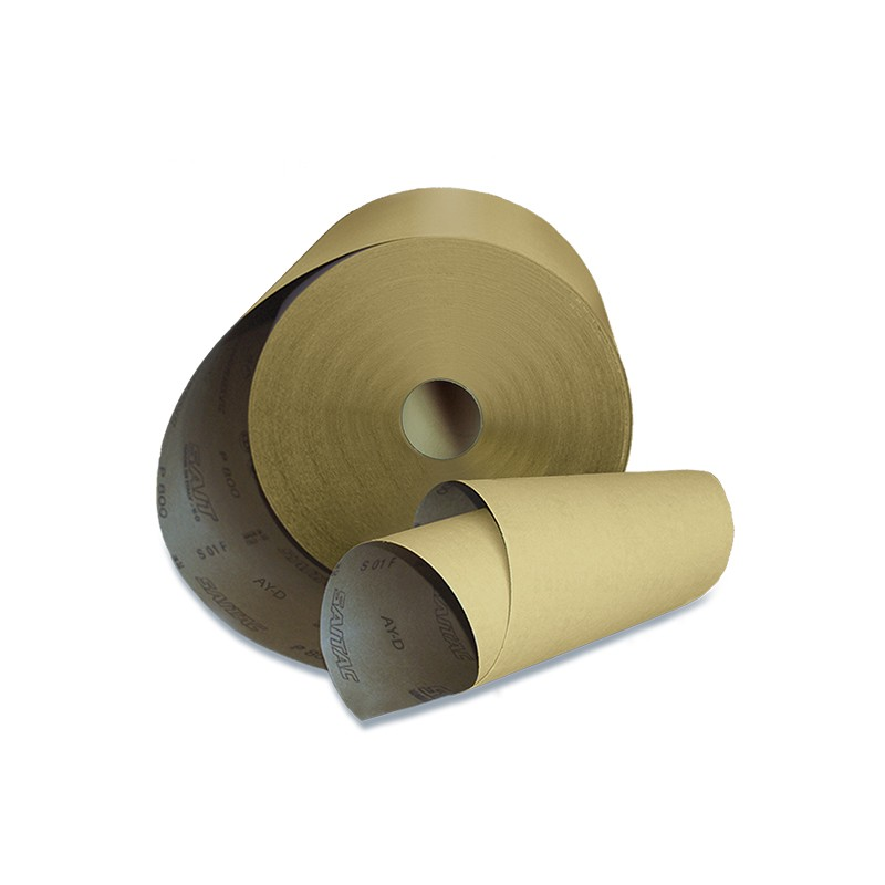 SAIT Abrasivi, RI-Saitac AY-D, Industrial abrasive paper roll, for Wood and Others  Applications