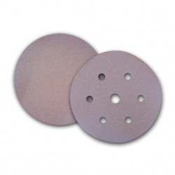 SAIT Abrasivi, D-Saitac-Vel 4S, Hook and loop paper disc, for Wood, Automotive Applications