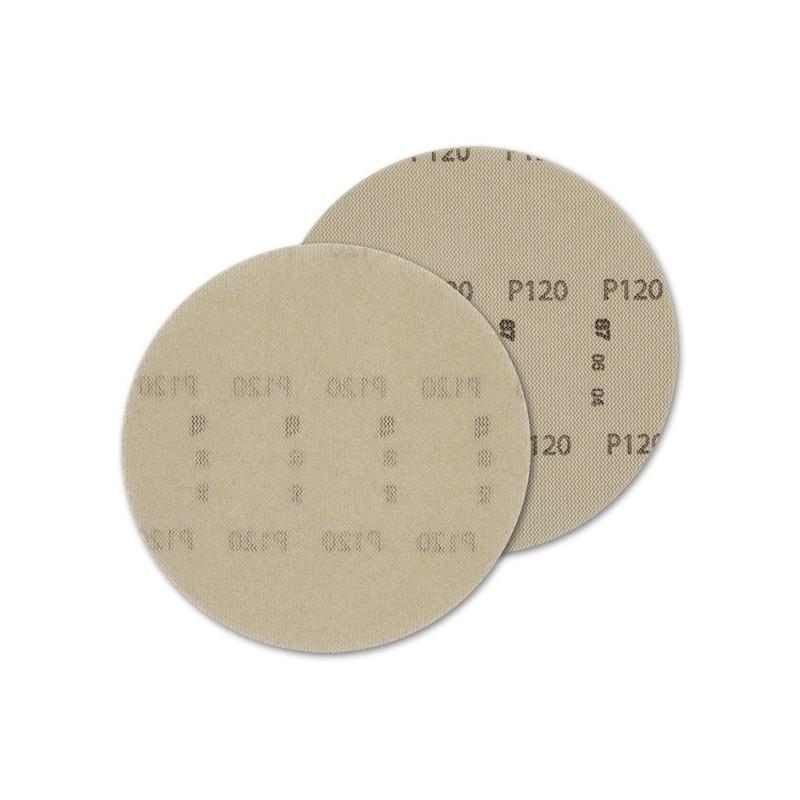 SAIT Abrasivi, DV-Free Dust, Disco autoaggrappante in rete di nylon, per Applicazioni Legno, Pietra