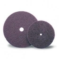 SAIT Abrasivi, D-Saitpol-SP, Discos em costado de tecido abrasivo sobre tecido não tecido, por Metal, Madeira Aplicações