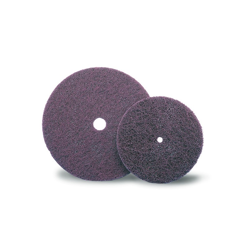 SAIT Abrasivi, D-Saitpol-SP, Discos de paño abrasivo sobre textil no tejido, para Metal, Madera Aplicaciones
