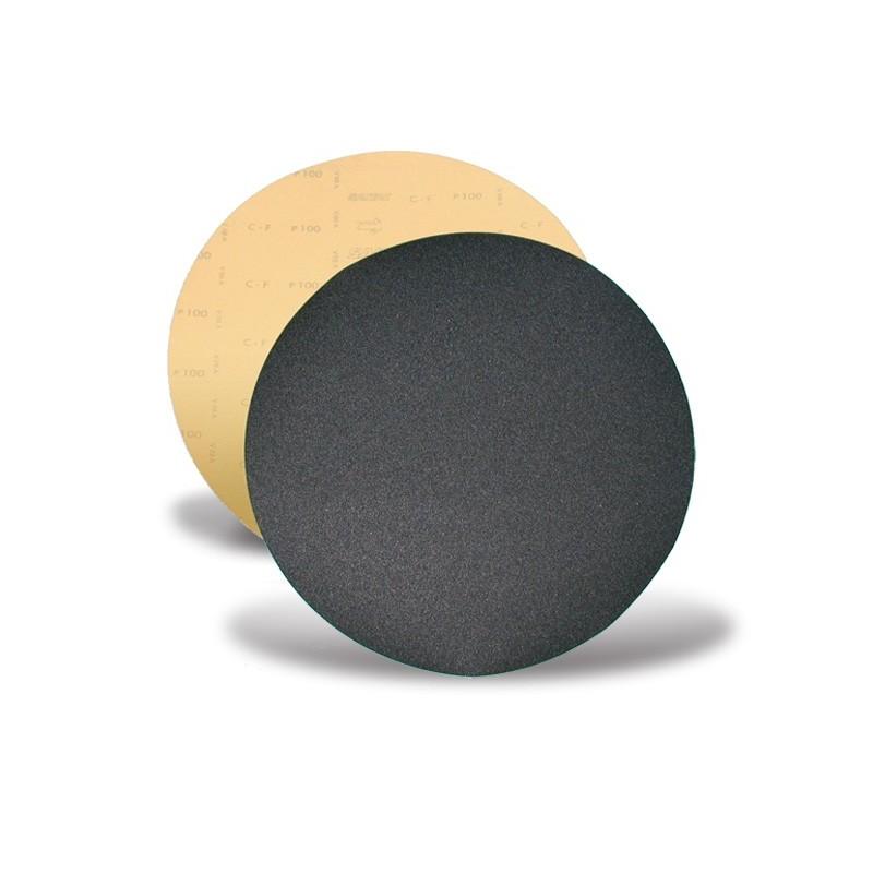 SAIT Abrasivi, D-Saitac-Vel C-F, Disco autoaggrappante di carta, per Applicazioni Legno, Pietra, Altre