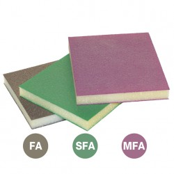 SAIT Abrasivi, SAITFOAM - FM 120, Abrasive on synthetic sponge, for Wood Applicatons