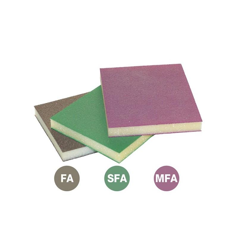 SAIT Abrasivi, SAITFOAM - FM 120, Abrasive on synthetic sponge, for Wood Applicatons