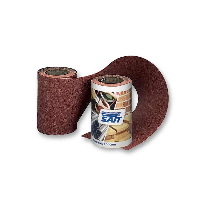 SAIT Abrasivi, RM-Saitac A-D, Abrasive paper mini-roll, for Applications Wood, Automotive and Others