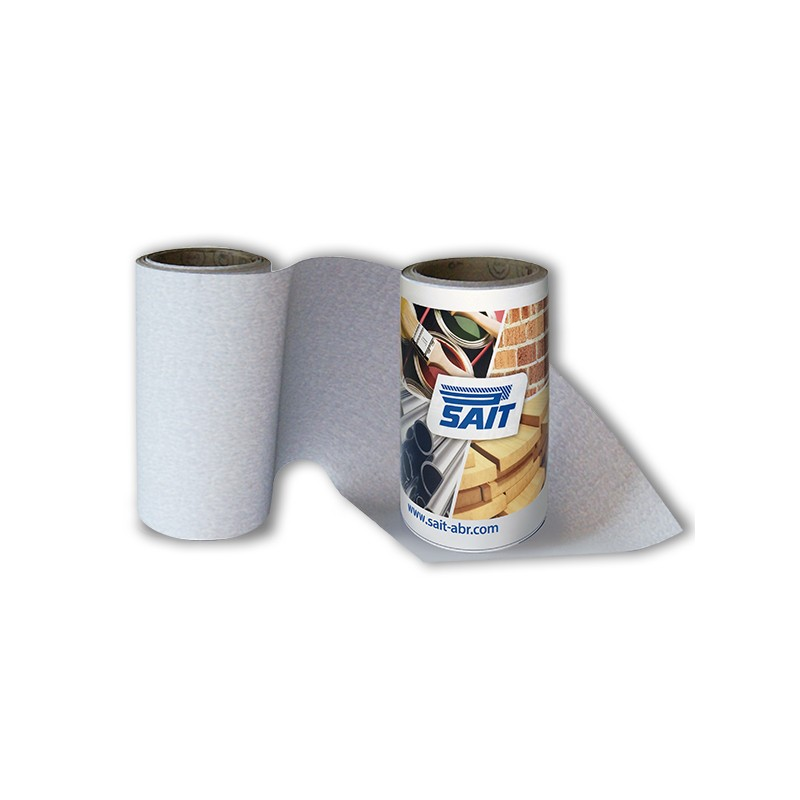 SAIT Abrasivi, RM-Saitac 6C, Mini-Schleifpapierrolle, fur Holz Anwendungen