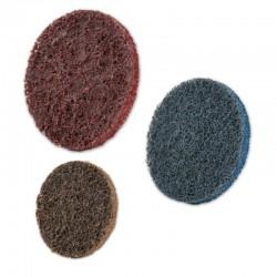 SAIT Abrasivi, SAIT LOCK QSCM, Discos Surface Conditioning, para Aceros, Aceros inoxidables, Aceros aleados, Aluminio