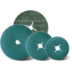 SAIT Abrasivi, Fibre Disc, Alluminium Oxide, SAITDISC-D 7 II, for Steel, Stainless Steel
