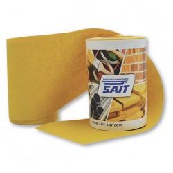 SAIT Abrasivi, RM-Saitac AY-D, Mini rollo de papel abrasivo, para Madeira, Carrocería y Otras Aplicaciones