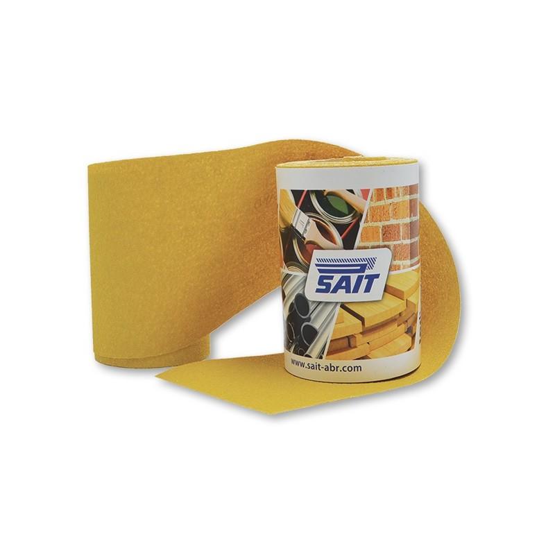 SAIT Abrasivi, RM-Saitac AY-D, Abrasive paper mini-roll, pour Carrosserie, Bois et Autres Préconisations