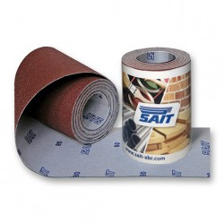 SAIT Abrasivi, Saitac-Vel AW-D, Hook&loop Abrasive paper mini-roll, for Metal, Wood, Automotive and Others Applications
