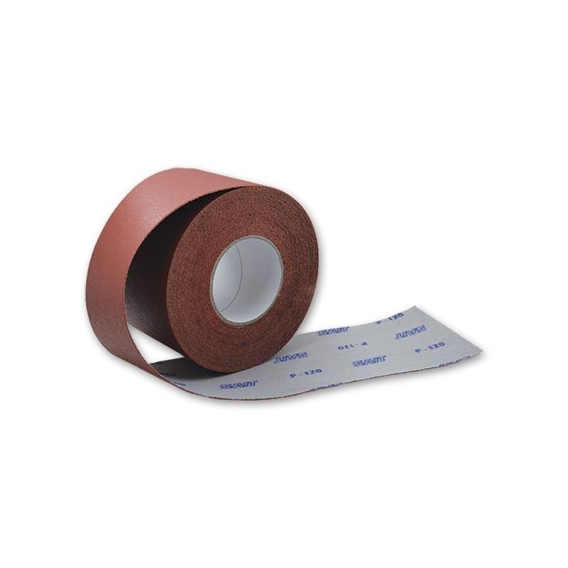 SAIT Abrasivi, RI-Saitac-Vel AW-D, Mini rollo de papel abrasivo, para Madeira, Carrocería y Otras Aplicaciones