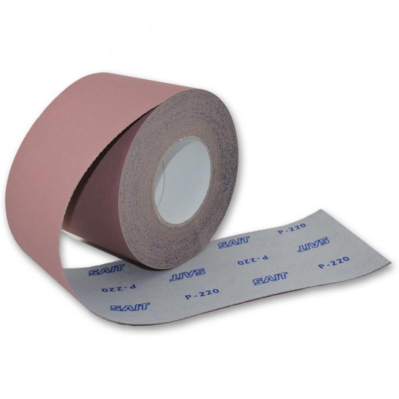 SAIT Abrasivi, RI-Saitac-Vel 3S, Minirotoli di carta abrasiva, Applicazioni Legno