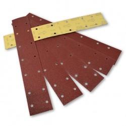 SAIT Abrasivi, BV-Saitac A-E, Strisce di carta abrasiva autoaggrappanti, per Applicazioni Carrozzeria