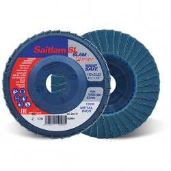 SAIT Abrasivi, Winner, Saitlam-SL Z, Abrasive double flap disc, for Metal Applications