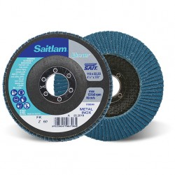 SAIT Abrasivi, Winner, Saitlam-FK Z, Abrasive conical flap disc, for Metal Applications
