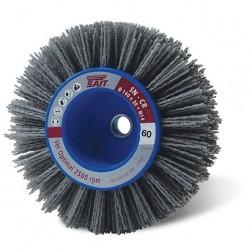 SAIT Abrasivi, SN-CR, Cepillo circular con eje, para Metal, Madera, Carroceria, Otras Aplicaciones
