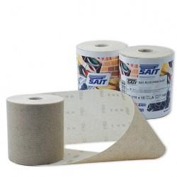 SAIT Abrasivi, RIFD Free Dust, Rotoli autoaggrappanti in rete di nylon, per Applicazioni Legno, Carrozzeria, Altre