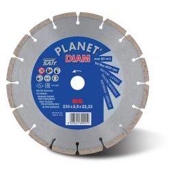 SAIT Abrasivi Planet Diam, BS seg. sint., pour Ciments, Briques