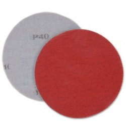 SAIT Abrasivi, Hook and loop disc 9S-H, Hook and loop paper disc, for Metal Applications
