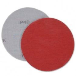 SAIT Abrasivi, Disco autogrip 9S-H, Disco autoaggrappante in tela, per Applicazioni Metallo
