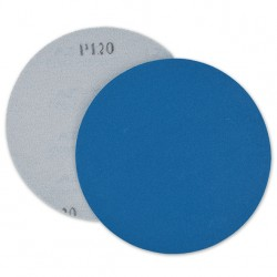 SAIT Abrasivi, Disco autogrip AZ-X, Disco de papel para fijación con gancho y bucle en poliagodon, para Metal Aplicaciones