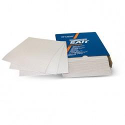 SAIT Abrasivi, S-Saitac- 3S, Folhas de abrasivo em costado de papel, por  Madeira Aplicações