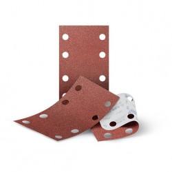 SAIT Abrasivi, BV-Saitac AW-D, Tiras de papel abrasivo para fijación con gancho y bucle, para Aplicaciones de Carrocería
