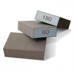 SAIT Abrasivi, Sait-Block, Abrasivo corindone su spugna sintetica