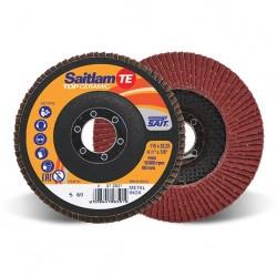 SAIT Abrasivi, TOP-Ceramic, Saitlam-TE, Disco abrasivo lamellare piano, per Applicazioni Metallo
