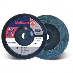 SAIT Abrasivi, Winner, Saitlam-KN Z Disco abrasivo lamellare conico, per Applicazioni Metallo